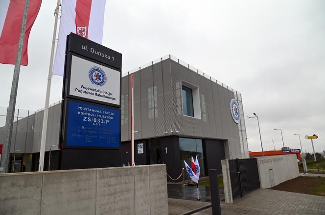 Nowa siedziba pogotowia ratunkowego w Szczecinie