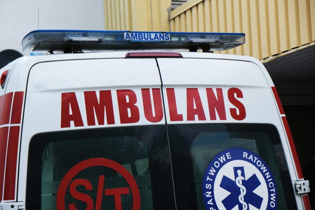 Brutalny atak na ratownika medycznego