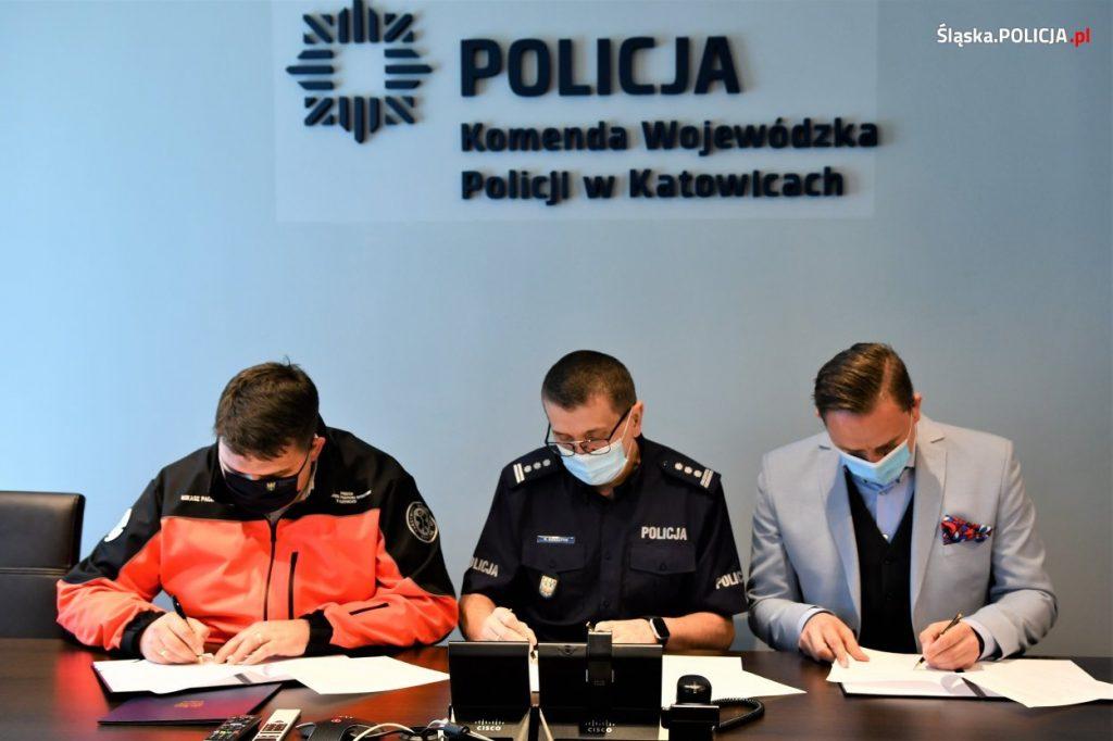Ratownicy i policjanci z województwa śląskiego łączą siły