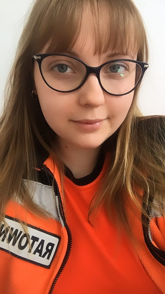 Karolina Bober - ratownik KPP